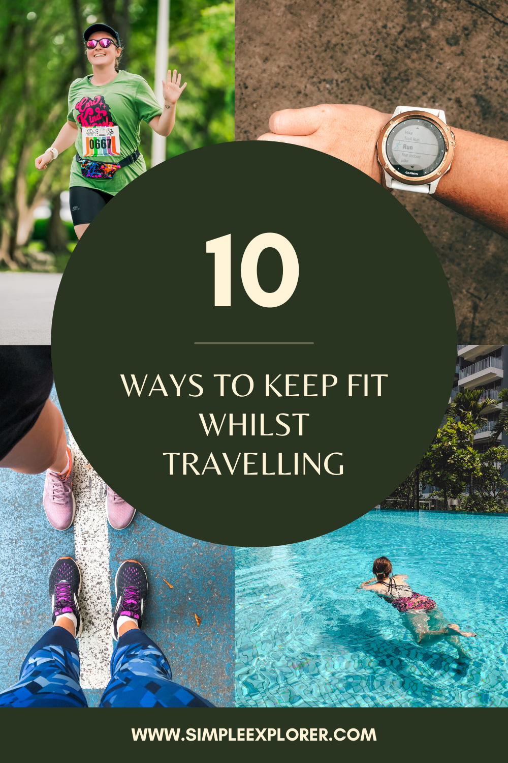 10 ways to stay fit whilst travelling