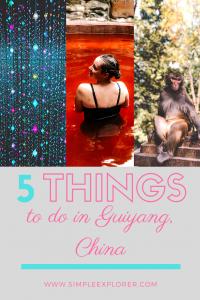 5 things to do in Guiyang, China