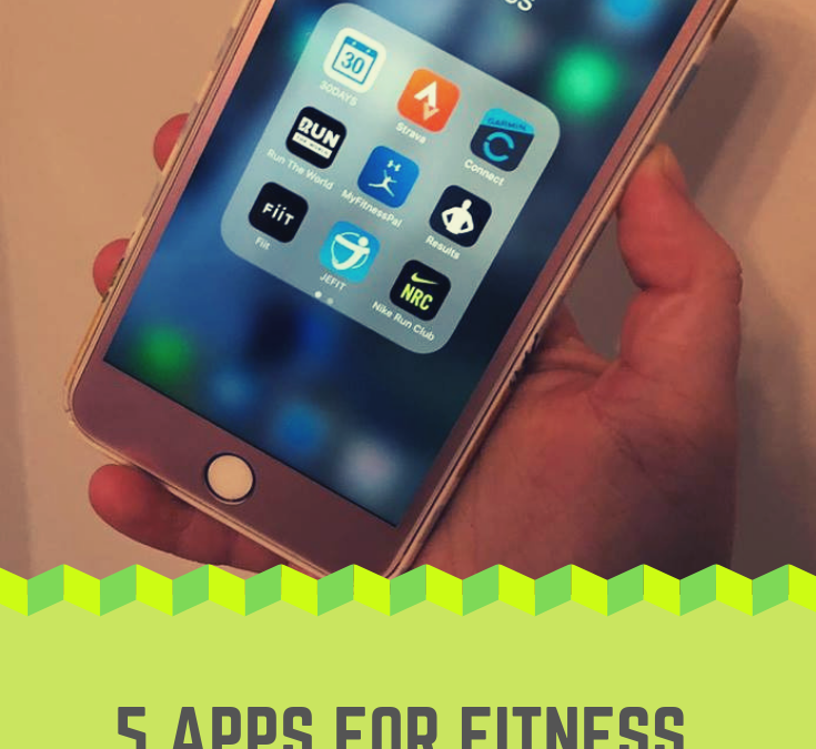 5 APPS FOR FITNESS LOVERS