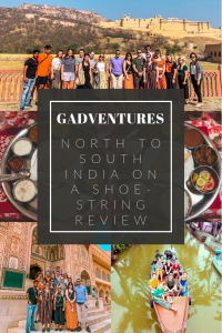 title: GADVENTURES NORTH TO SOUTH INDIA REVIEW LOTS OF PICTURES BEHIND, A GROUP PICTURE, INDIAN FOOD