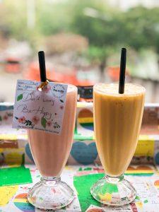 2 smoothies