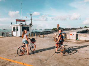 Biking in Singapore