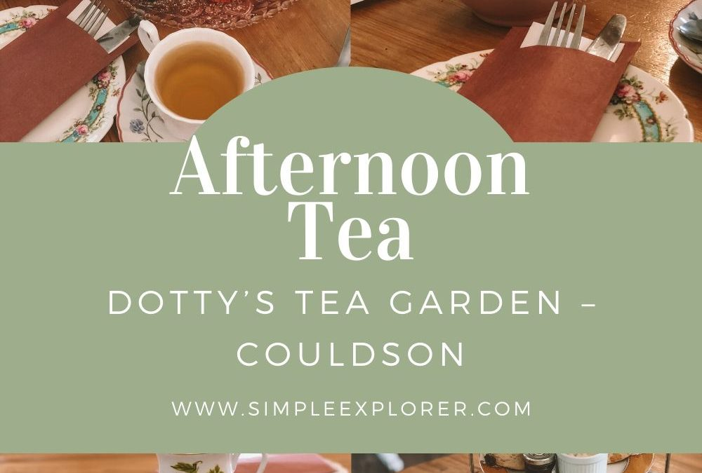 DOTTY'S TEA GARDEN – COULDSON, LONDON