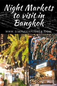 Night Markets to visit in Bangkok