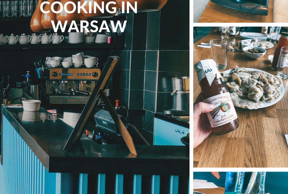 PASSIONATE ABOUT PIEROGIS? COOKING IN WARSAW