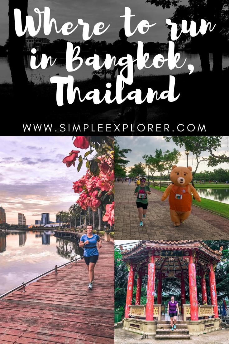 Where to run, Bangkok, Thailand