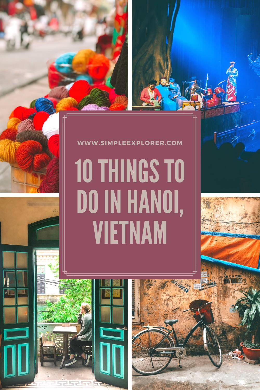 10 THINGS TO DO IN HANOI, VIETNAM