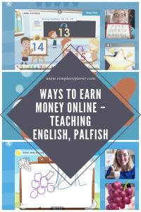 WAYS TO EARN MONEY ONLINE – TEACHING ENGLISH, PALFISH