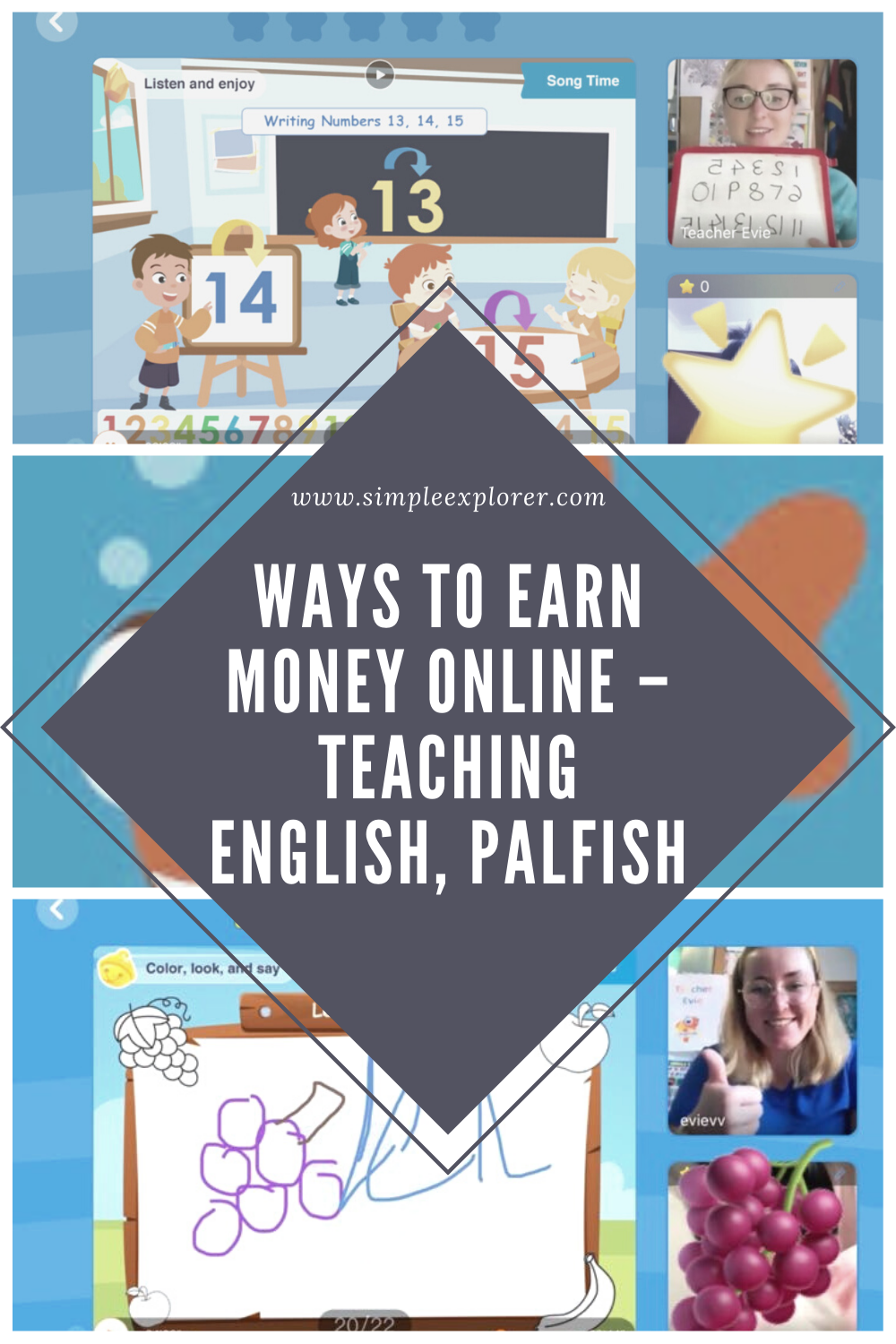 WAYS TO EARN MONEY ONLINE – TEACHING ENGLISH, PALFISH