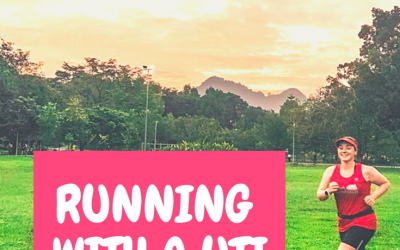 RUNNING WITH A UTI SUCKS